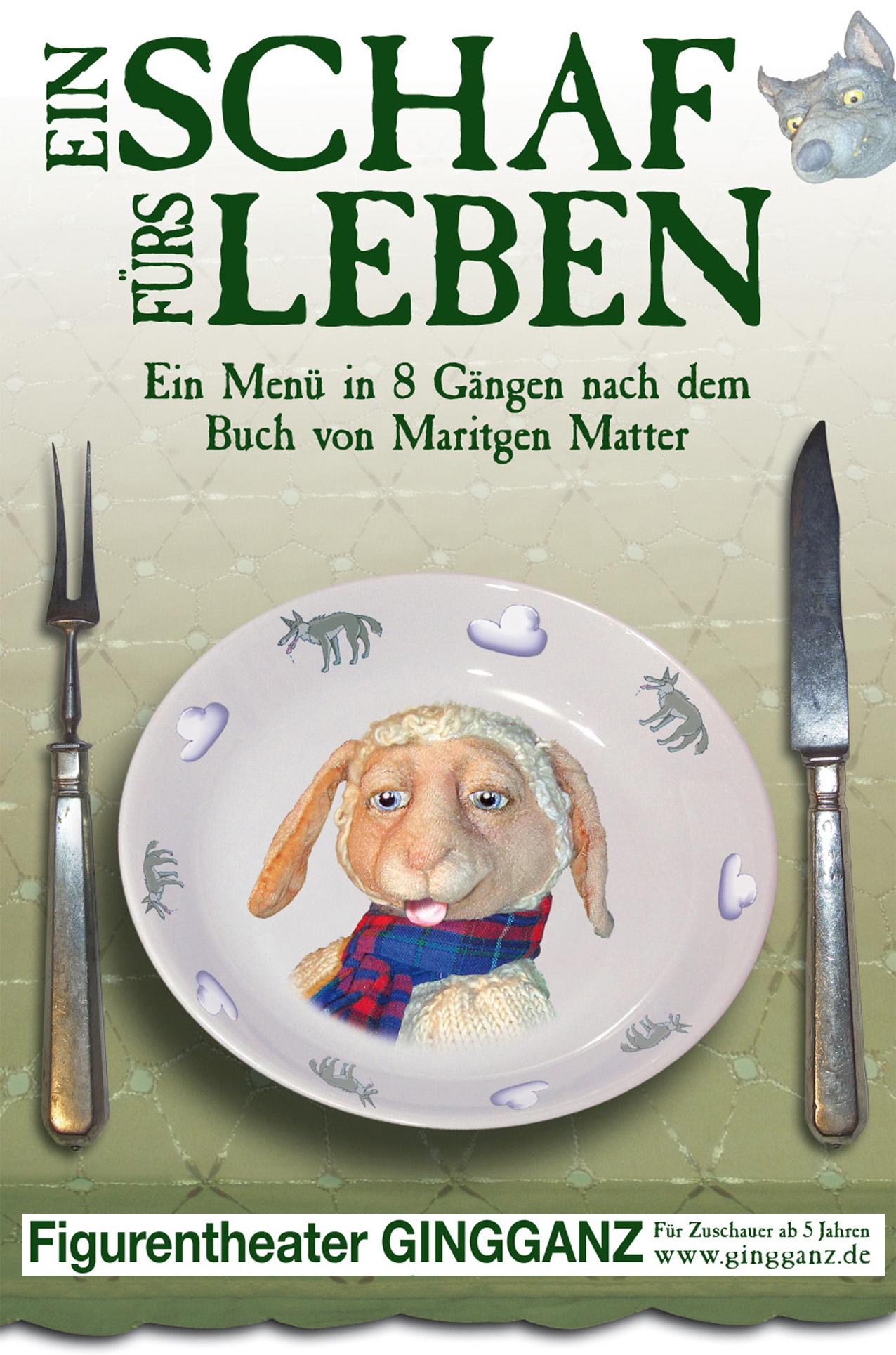 Plakat_Ein Schaf fürs Leben_Gingganz